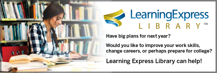 Learning Express Library Homepage Splash