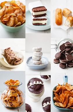 Real snacks : make your favorite childhood treats without all the                junk