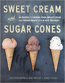 Sweet cream and sugar cones : 90 recipes for making your own ice                cream and frozen treats from Bi-Rite Creamery / Kris                Hoogerhyde, Anne Walker, and Dabney Gough ; photography by                Paige Green.