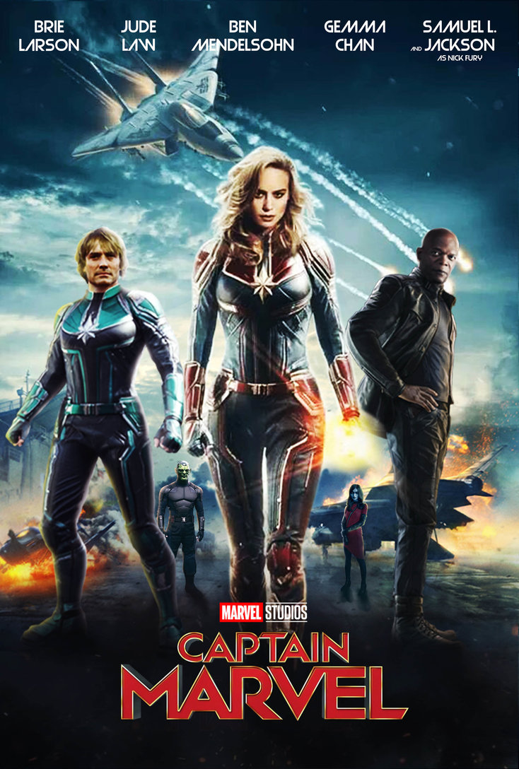 Carol Danvers becomes one of the universe's most powerful heroes when Earth is caught in the middle of a galactic war between two alien races.