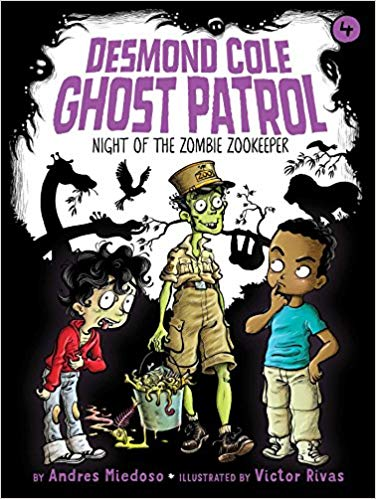 Night of the zombie zookeeper / by Andres Miedoso ; illustrated by Victor Rivas