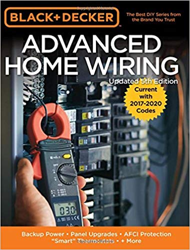 "Advanced home wiring : backup power, panel upgrades, AFCI  protection, ""smart"" thermostats + more."